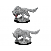 D&D Nolzur's Marvelous Miniatures - Winter Wolf (6 Units)