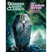 Dungeon Crawl Classics #83: The Chained Coffin (DCC RPG Adv., Hardback) - EN