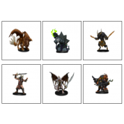 D&D Icons of the Realms Figure Pack Descent into Avernus: Arkhan the Cruel and The Dark Order - EN