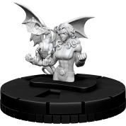 Marvel HeroClix Deep Cuts Unpainted Miniatures: Kitty Pryde (4 Units) - EN