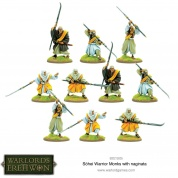 Warlord of Erehwon: Sohei Warrior Monks with Naginata - EN