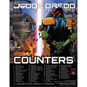 Judge Dredd RPG Counter Set - EN