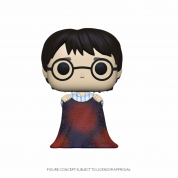 Funko POP! HP- Harry w/Invisibility Cloak Vinyl Figure 10cm