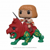 Funko POP! MOTU - He-Man on Battle Cat Vinyl Figure
