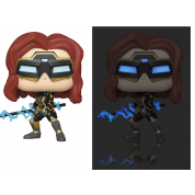 Funko POP! Avengers Game - Black Widow (Stark Tech Suit) w/ Glow Chase Vinyl Figures 10cm Assortment (5+1 chase figure)