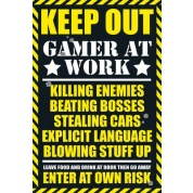 GBeye Maxi Poster - Gaming Keep Out