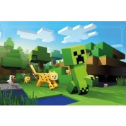 GBeye Maxi Poster - Minecraft Ocelot Chase