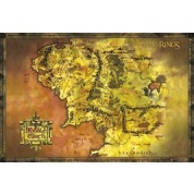GBeye Maxi Poster - Lord Of The Rings Classic Map