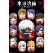 GBeye Maxi Poster - Tokyo Ghoul Chibi Characters
