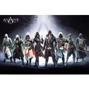 GBeye Maxi Poster - Assassins Creed Characters
