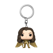 Funko POP! Keychain WW84 Wonder Woman (No Helmet Gold Wing) Vinyl Figure