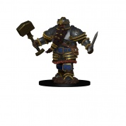 D&D Icons of the Realms Premium Figures: Dwarf Male Fighter (6 Units)