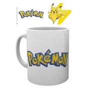 GBeye Mug - Pokemon Logo and Pikachu