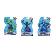 Avengers Bend & Flex Assortment Figures (8)