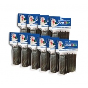 UberStax Universal Game Piece Holders Black 10-Pack