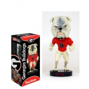 Royal Bobbles - Georgia Bulldog Bobble Head Cold Resin 20cm