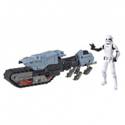 Star Wars Galaxy of Adventures First Order Driver & Treadspeeder