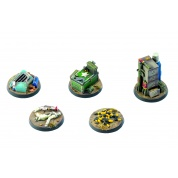 Fallout: Wasteland Warfare - Terrain Expansion: Objective Markers 2 - EN