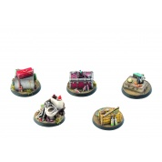 Fallout: Wasteland Warfare - Terrain Expansion: Objective Markers 1 - EN