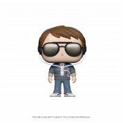 Funko POP! BTTF - Marty w/glasses Vinyl Figure 10cm