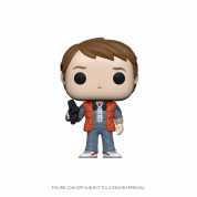 Funko POP! BTTF - Marty in Puffy Vest Vinyl Figure 10cm