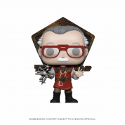 Funko POP! Icons Stan Lee in Ragnarok Outfit Vinyl Figure 10cm