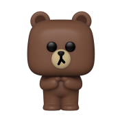 Funko POP! POP Animation: Line Friends - Brown Vinyl Figure 10cm