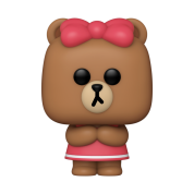 Funko POP! POP Animation: Line Friends - Choco Vinyl Figure 10cm