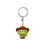 Funko POP! POP Keychain: Pixar- Alien as Woody Vinyl Figure