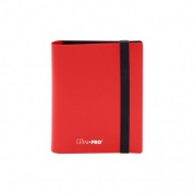 UP - 2-Pocket PRO-Binder - Eclipse Apple Red