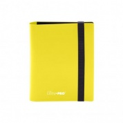 UP - 2-Pocket PRO-Binder - Eclipse Lemon Yellow