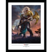 GBeye Collector Print - Magic The Gathering Ajani Strength of the Pride 30x40cm