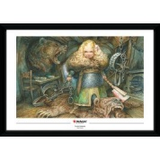 GBeye Collector Print - Magic The Gathering Flaxen Intruder 50x70cm