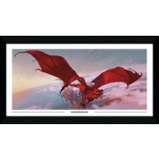 GBeye Collector Print - Dungeons & Dragons Red Dragon 50x100cm