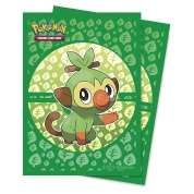 UP - Deck Protector Sleeves - Pokemon Sword and Shield Galar Starters Grookey (65 Sleeves)