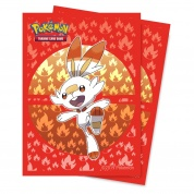 UP - Deck Protector Sleeves - Pokemon Sword and Shield Galar Starters Scorbunny (65 Sleeves)
