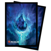 UP - Deck Protector Sleeves - Magic: The Gathering Celestial Island (100 Sleeves)