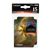 UP - Deck Dividers - Magic: The Gathering Celestial Lands (15 Dividers)
