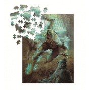 The Witcher 3 - Wild Hunt Puzzle: Ciri and the Wolves