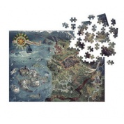 The Witcher 3 - Wild Hunt Puzzle: Witcher World Map