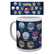 GBeye Mug - Pokemon Ball Varieties