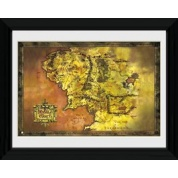 GBeye Collector Print - Lord Of The Rings Classic Map 50x70cm