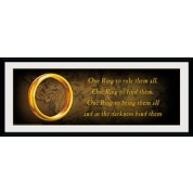 GBeye Collector Print - Lord of the Rings One Ring 76x30cm