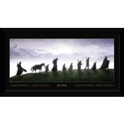 GBeye Collector Print - Lord Of The Rings Fellowship 50x100cm