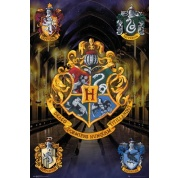 GBeye Maxi Poster - Harry Potter Crests