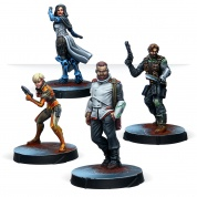 Infinity: Agents of the Human Sphere. RPG Characters Set - EN