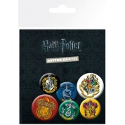 GBeye Badge Pack - Harry Potter Crests