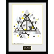 GBeye Collector Print - Harry Potter Deathly Pixels 30x40cm
