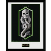GBeye Collector Print - Harry Potter Skull 30x40cm