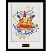 GBeye Collector Print - Harry Potter Hogwarts Paint 30x40cm